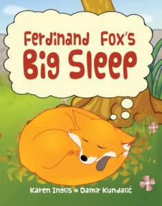 Image of fox sleeping
