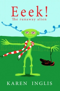 Front cover of Eeek! The Runaway Alien