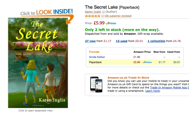 Image of The Secret Lake on Amazon uk