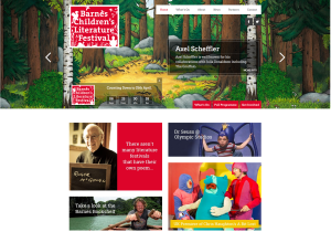Barnes Children's Litfest Home page