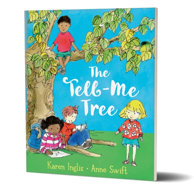 Image of children beneath a tree - The Tell-Me Tree book cover